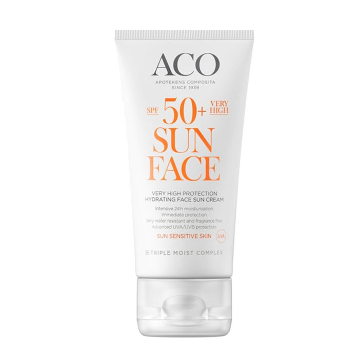 ACO Face Sun Cream Spf 50 50ml