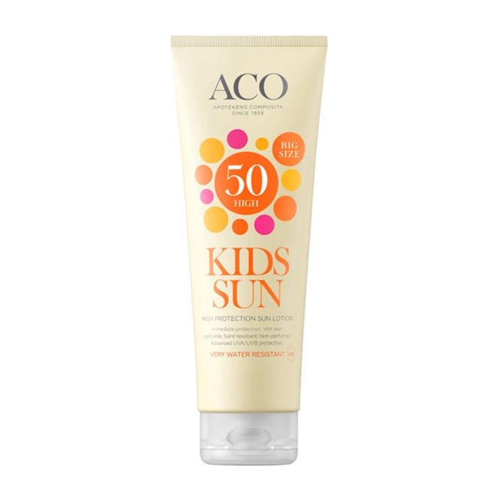 ACO Kids Sun Lotion Spf 50 250ml