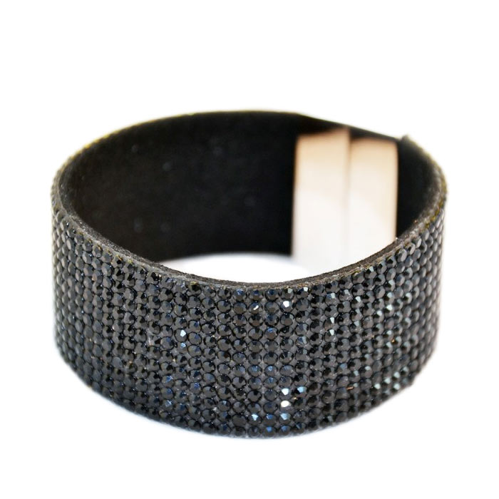 Armband Blingbling Magnetic Black