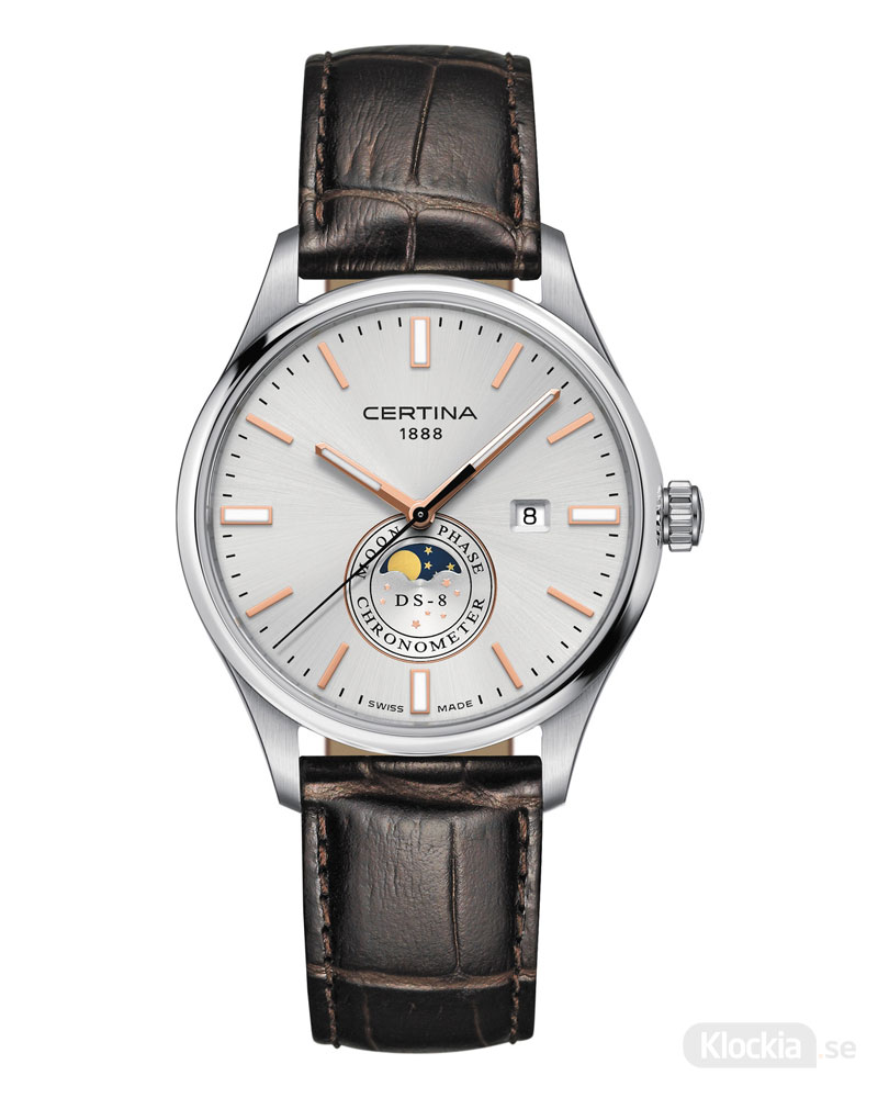 CERTINA DS-8 Moon Phase C033.457.16.031.00