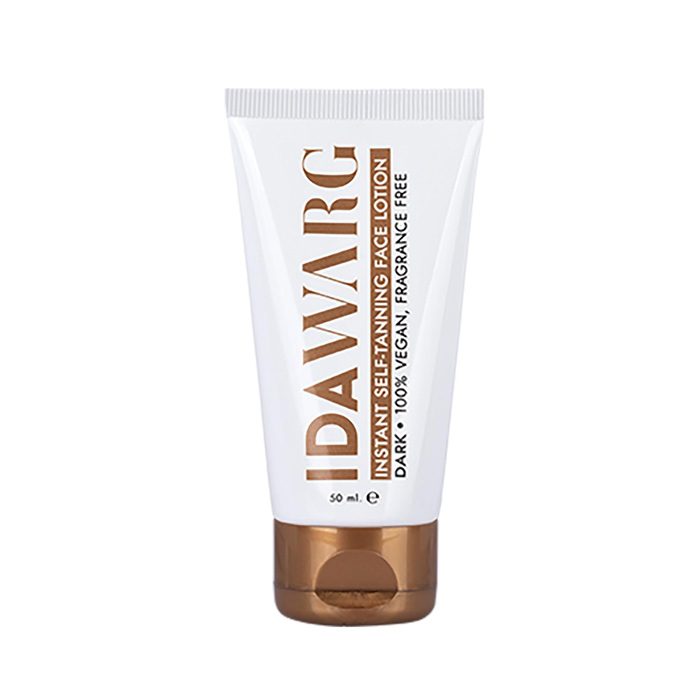 Ida Warg Instant Self Tanning Face Lotion Dark 50ml