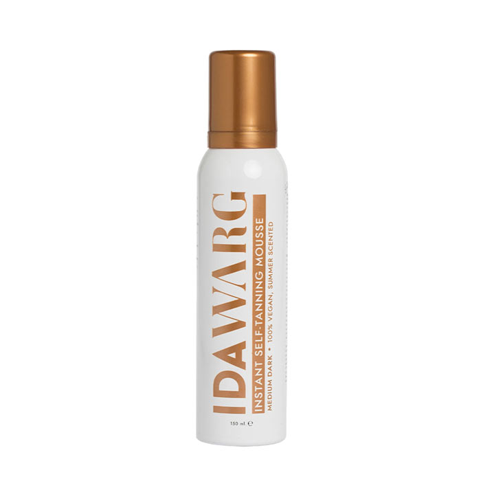 Ida Warg Instant Self-Tanning Mousse Medium-Dark 150ml