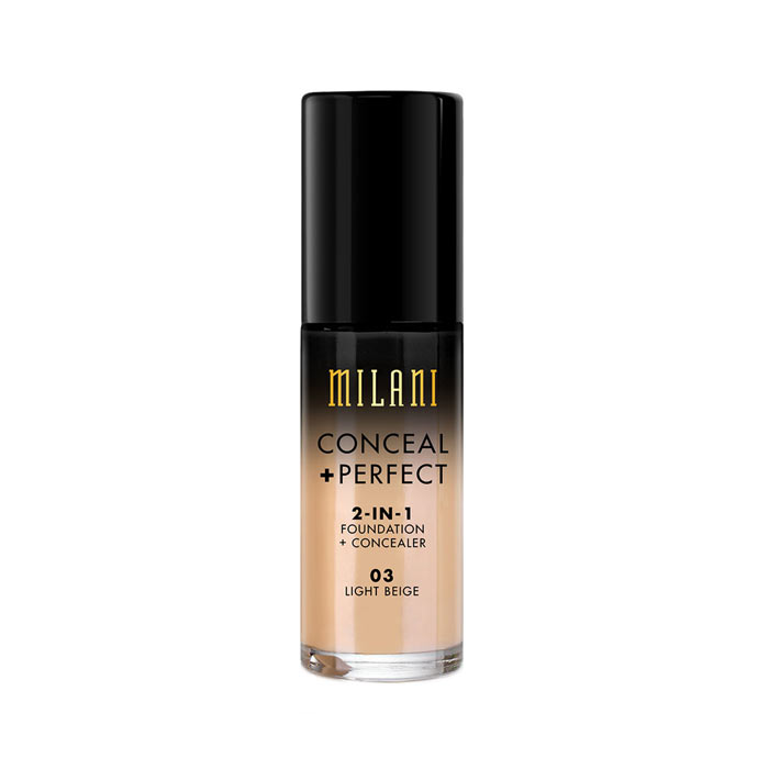 Milani Conceal+Perfect Liquid Foundation - 03 Light Beige