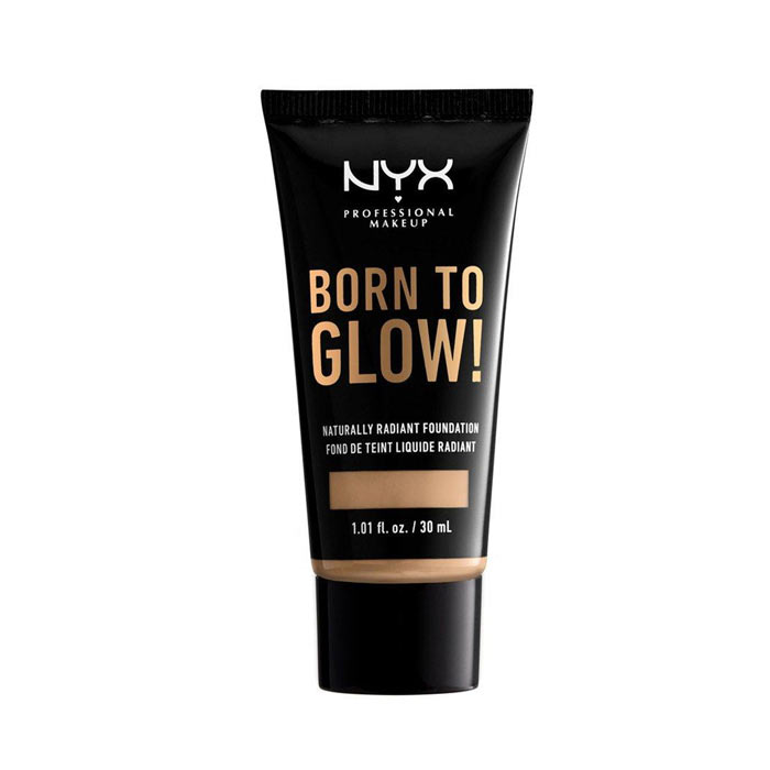 NYX Born To Glow Naturally Radiant Foundation 30ml - Buff