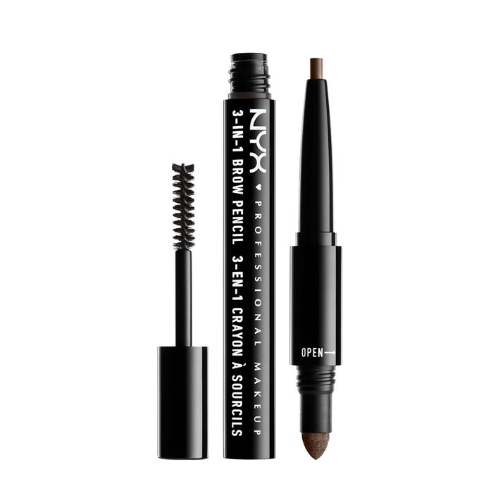 NYX PROF. MAKEUP 3 in 1 Brow - 08 Ash Brown