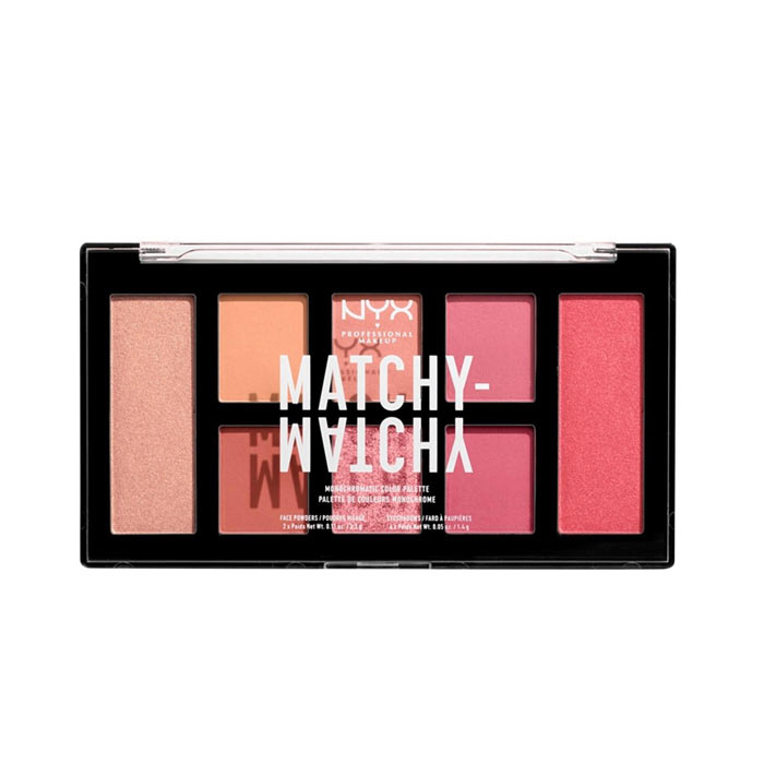 NYX PROF. MAKEUP Matchy Matchy Monochromatic Color Palette - Melon