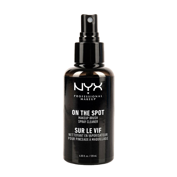 NYX PROF. MAKEUP On the Spot Makeup Brush Cleaner Spray 120ml