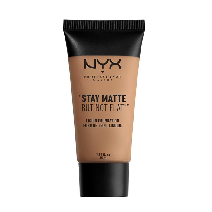NYX PROF. MAKEUP Stay Matte Not Flat Foundation - Nutmeg