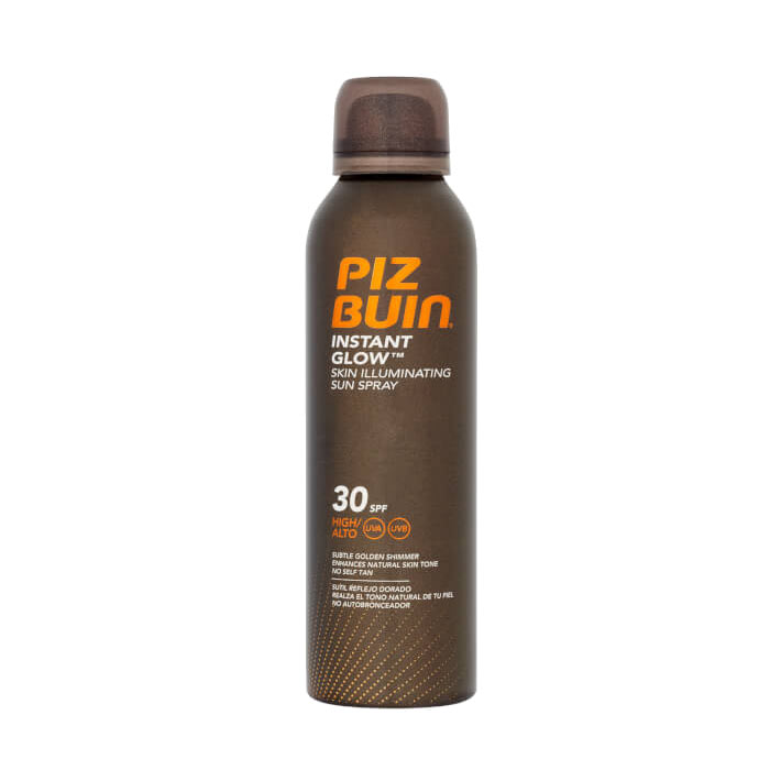 Piz Buin Instant Glow Skin Illuminating Sun Spray SPF30 150ml